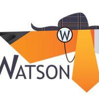 diseños logos perros watson
