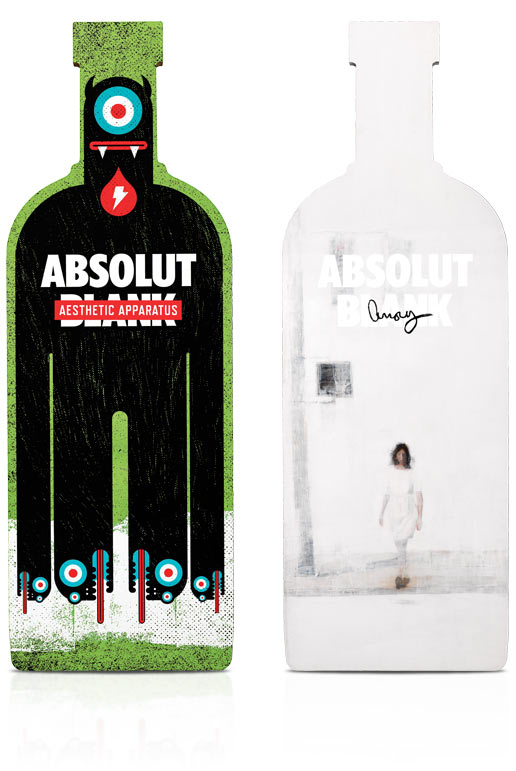 diseños packaging vodka absolut 18