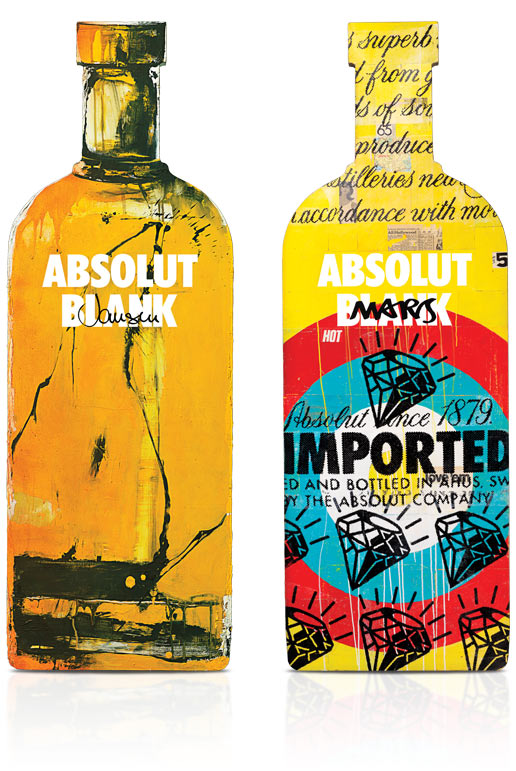 diseños packaging vodka absolut 21