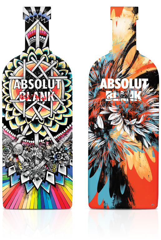 diseños packaging vodka absolut 22