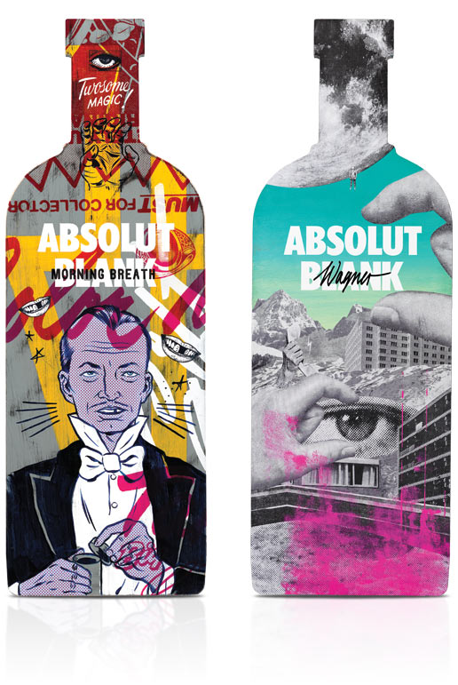diseños packaging vodka absolut 23
