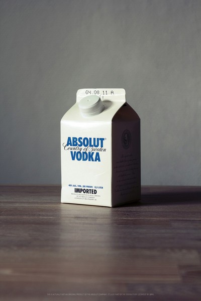 diseños packaging vodka absolut 5