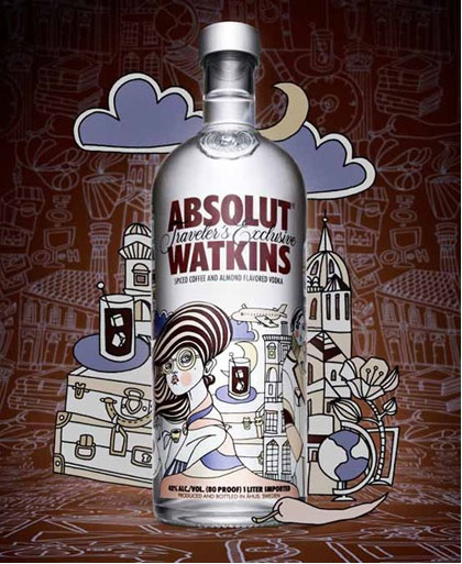 diseños packaging vodka absolut 8