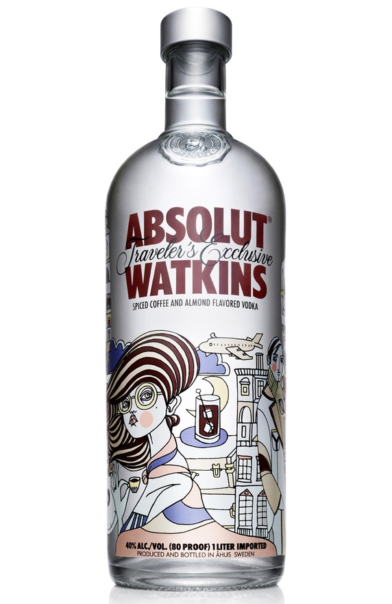 diseños packaging vodka absolut 9