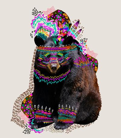 Psicodélicos y coloridos diseños por Kris Tate