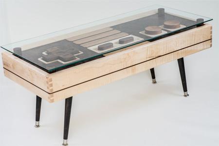 Video: Increíble mesa de madera que luce como un control de Nintendo