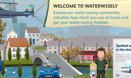 07 waterwisely 10 Ilustraciones creativas utilizas diseños web