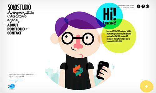 15 fransolostudio 10 Ilustraciones creativas utilizas diseños web