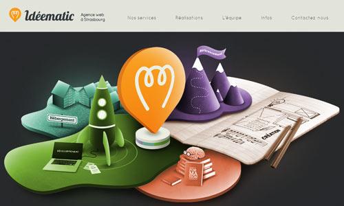 16 ideematic 10 Ilustraciones creativas utilizas diseños web