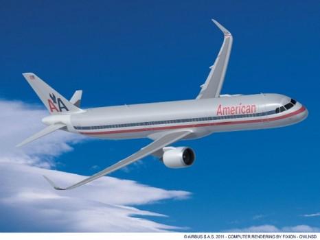 AA Old 466x350 Nuevo logo y nuevo diseño de aviones de American Airlines