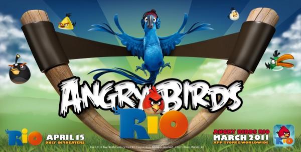 AB RIO 600x304 'Angry Birds Rio' para iOS gratis por tiempo limitado
