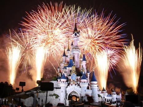 Disneyland-Fireworks