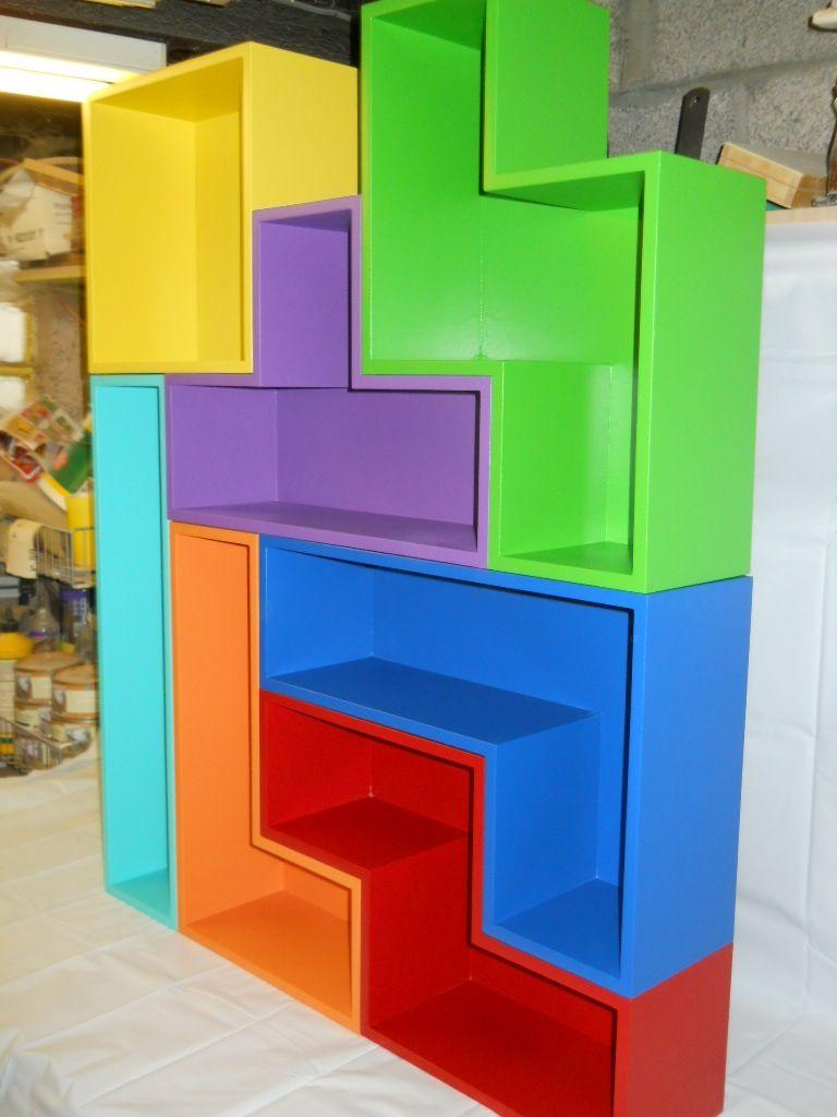 librero tetris