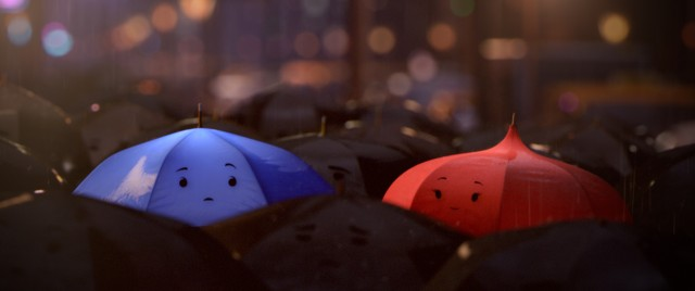 The Blue Umbrella e1357801152776 Clip de Blue Umbrella el corto que Pixar lanzara junto con Monsters University