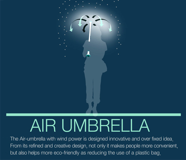 air umbrella6 Air umbrella