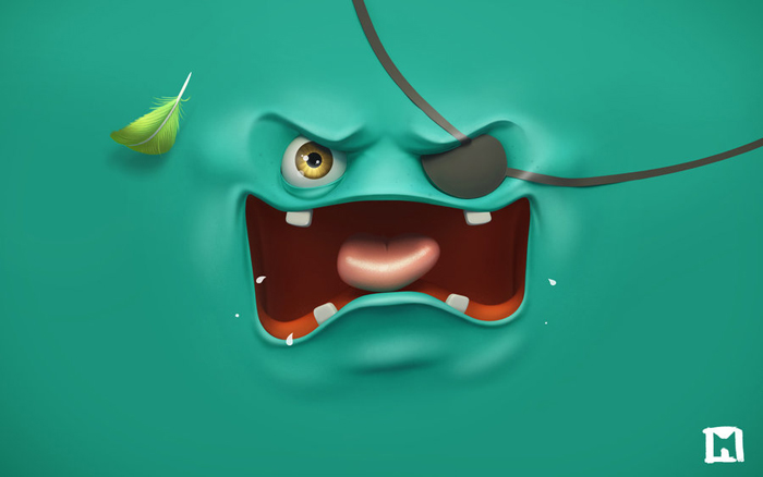 angry wallpaper by melaamory d5ow0mh 6 Wallpapers coloridos, creativos y divertidos