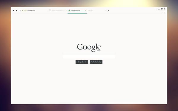 concepto diseño ui google chrome 1