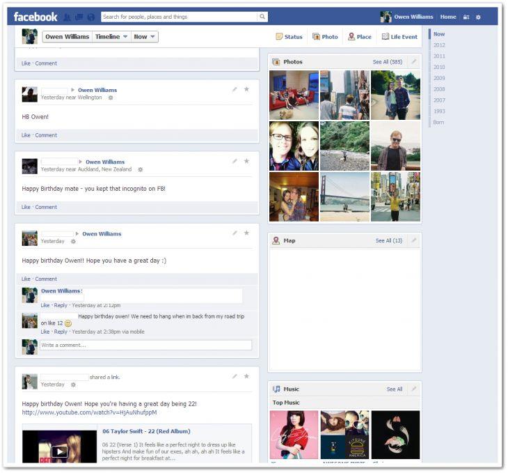 facebook 2 1 Facebook renovara el diseño de los perfiles, si otra vez