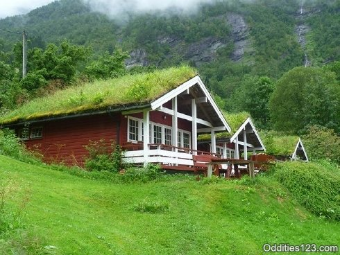 Incre bles casas para hobbit frogx three for Casas en noruega