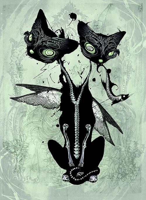 excelentes ilustraciones por natalie shau frogx three