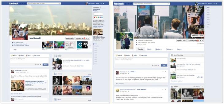 nuevo facebook Facebook renovara el diseño de los perfiles, si otra vez