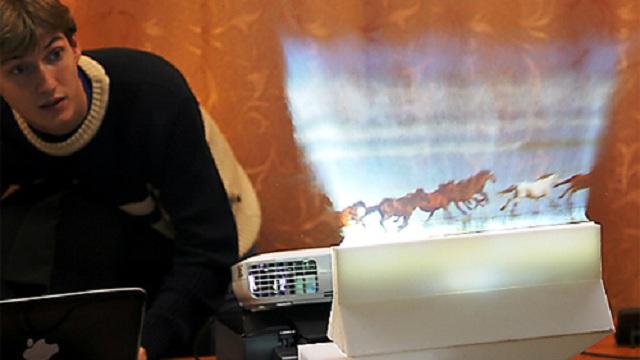 pantalla tactil vapor de agua Pantalla táctil que utiliza vapor de agua presentada en el CES 2013