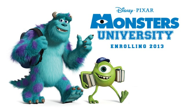 pelicula pixar monsters university