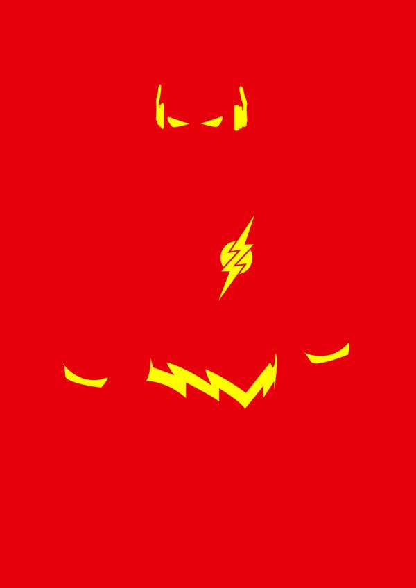 poster minimalistas super heroes 2