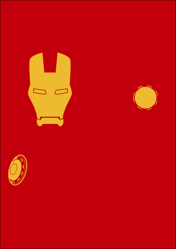 poster minimalistas super heroes 4