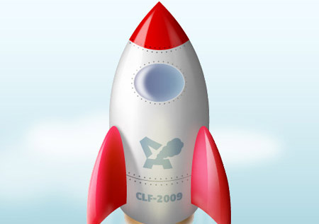 space rocket Tutoriales Adobe Illustrator gratis