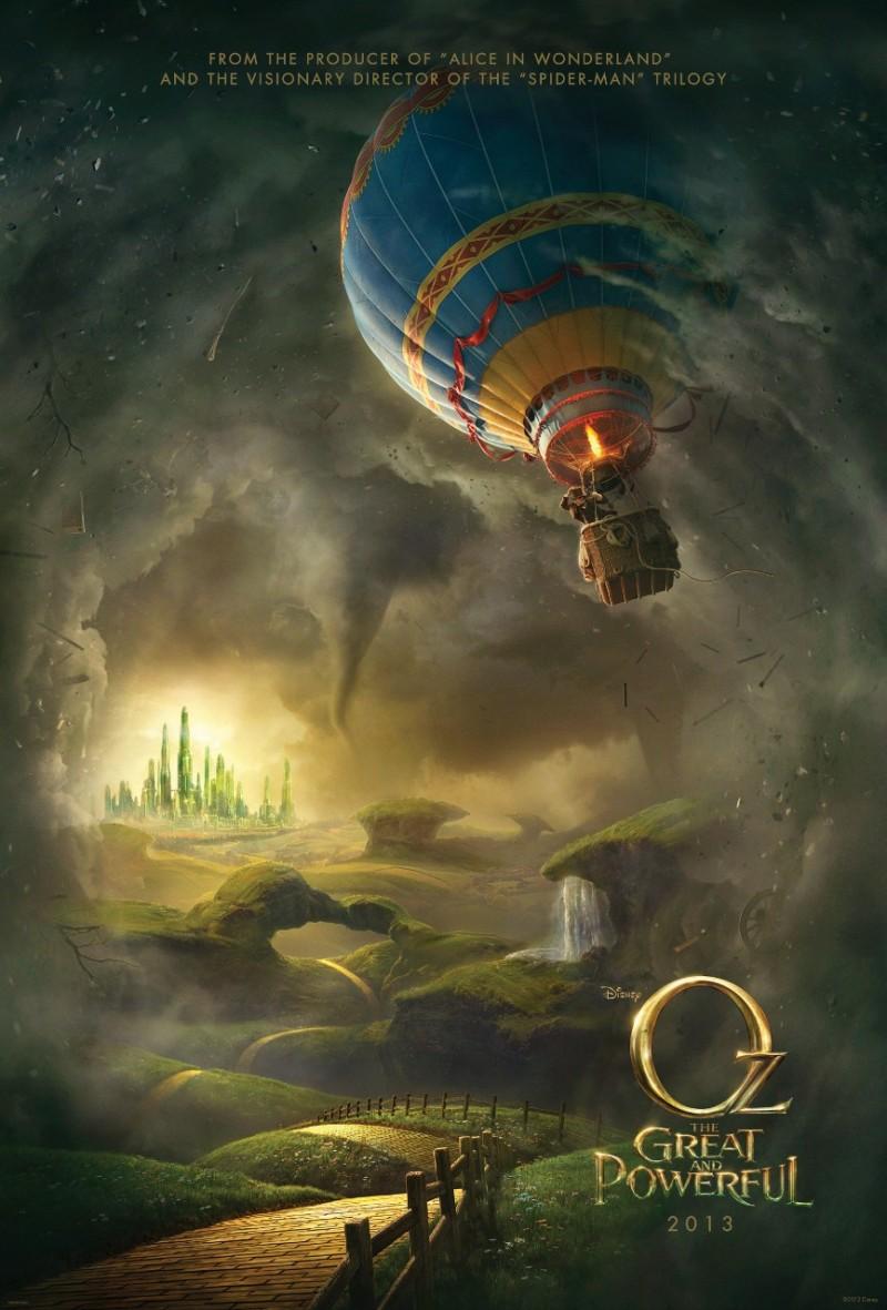 018 800x1181 Posters de películas: Oz el poderoso