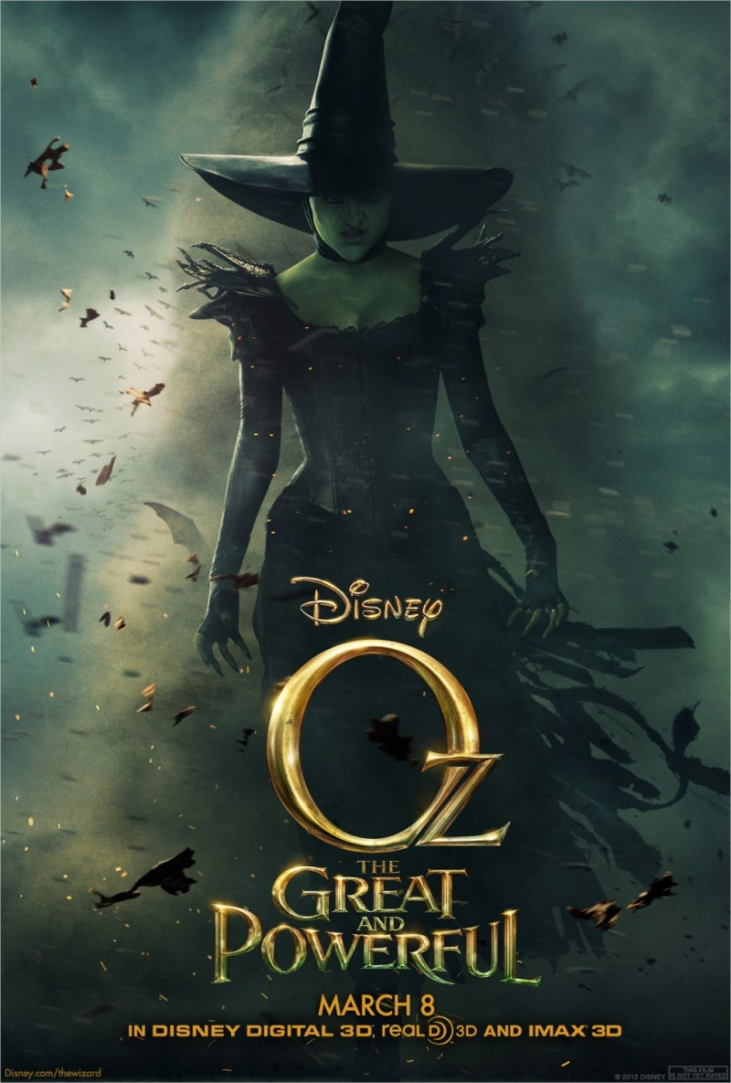 028 800x1185 Posters de películas: Oz el poderoso