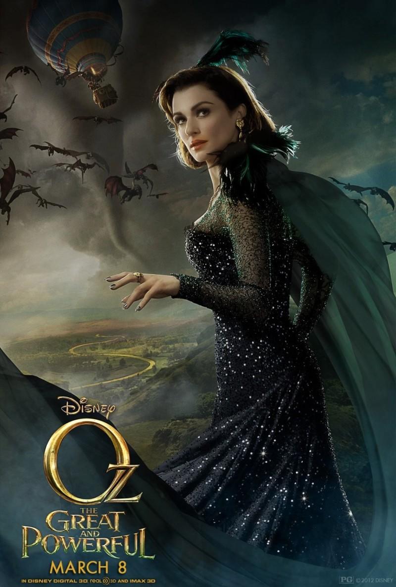 037 800x1185 Posters de películas: Oz el poderoso