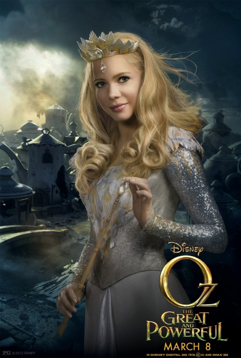 057 800x1185 Posters de películas: Oz el poderoso