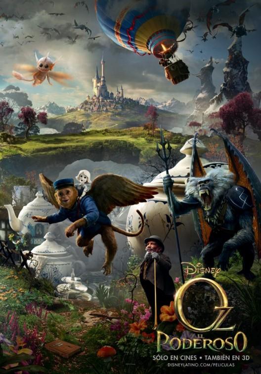 124 Posters de películas: Oz el poderoso