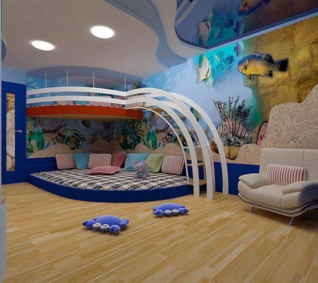 20 im genes de las mejores habitaciones de ni os frogx three - Fotos de habitaciones de ninos ...