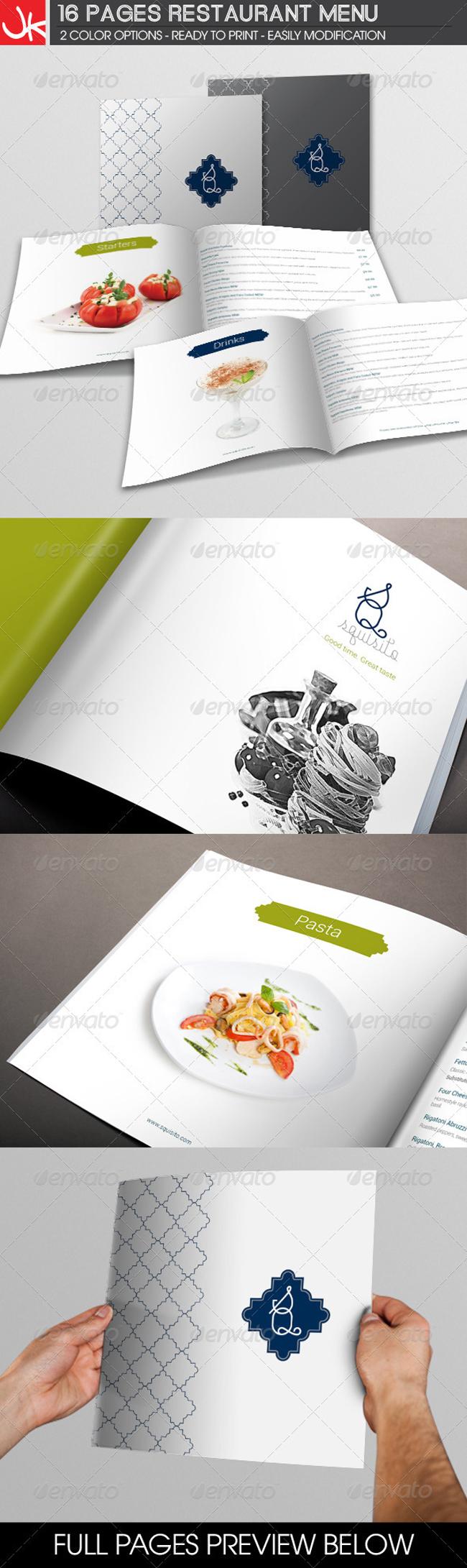 Ejemplos del dise o de menus para restaurantes frogx three for Disenos de menus para restaurantes