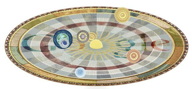 Google Doodle Nicolas Copernico