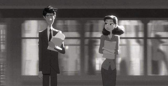 Paperman9 head Paperman, corto animado de Pixar completo