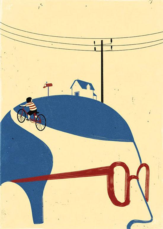 ilustraciones surrealistas 1 Galería de ilustraciones surrealistas muy creativas