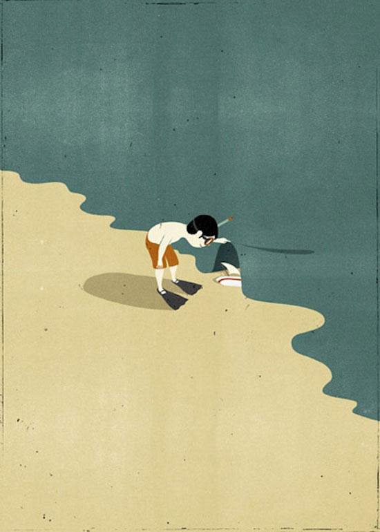 ilustraciones surrealistas 11 Galería de ilustraciones surrealistas muy creativas