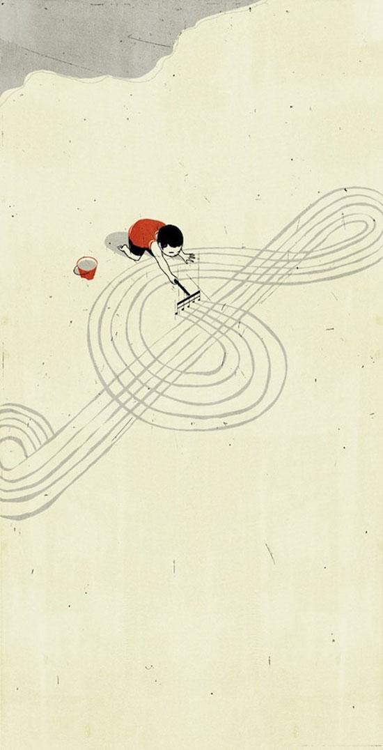 ilustraciones surrealistas 7 Galería de ilustraciones surrealistas muy creativas