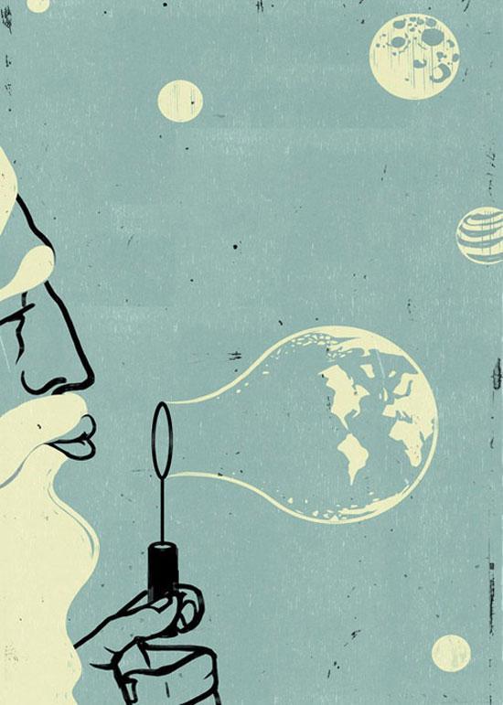 ilustraciones surrealistas 8 Galería de ilustraciones surrealistas muy creativas