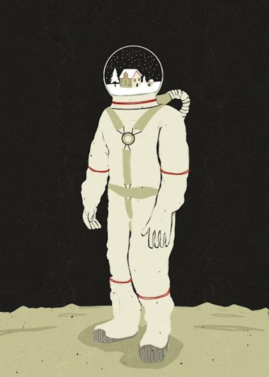 ilustraciones surrealistas 9 Galería de ilustraciones surrealistas muy creativas