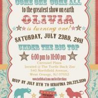 invitaciones aniversario 1