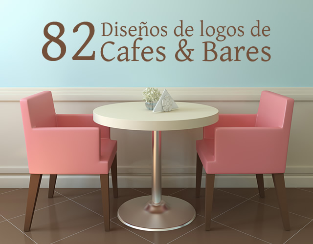 logos cafes y bares