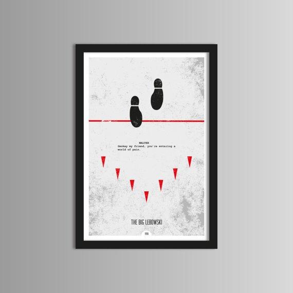 posters minimalistas de películas 1