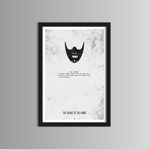 posters minimalistas de películas 6