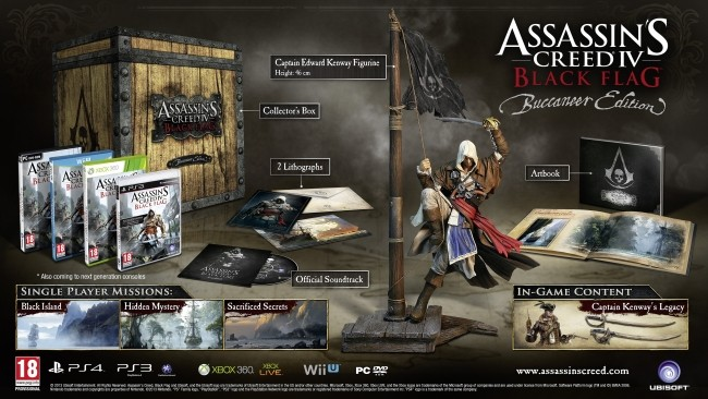 Assassins Creed IV Black Flag Buccaneer Edition