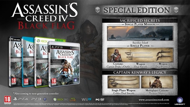 Assassins Creed IV Black Flag Especial Edition